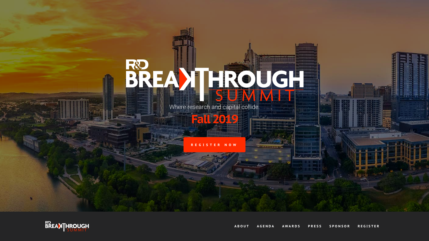 R&D Breakthrough Summit
